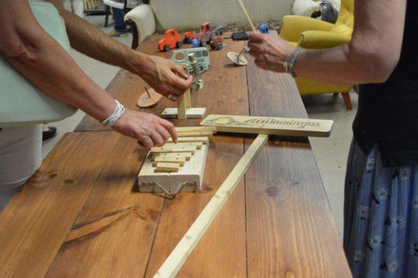 Pikuti ja risti – puidu õppetunnid