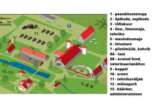 Põllumajandusmuuseumi asendiplaan