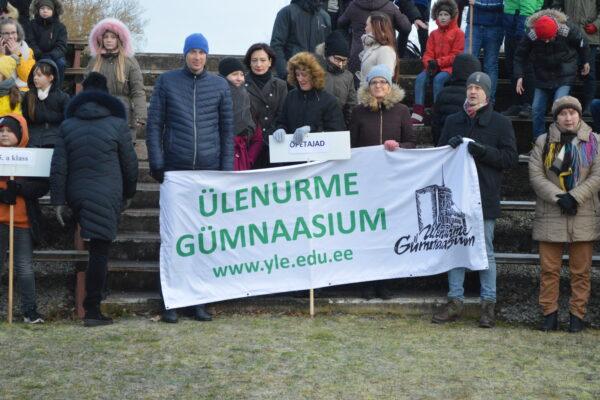Ülenurme Gümnaasiumi Eesti Vabariik 102 tähistamine